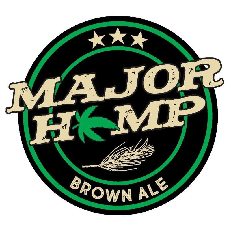 Logo - Major Hemp Brown Ale 800x800